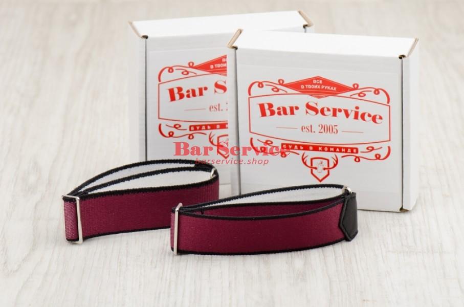 Армбенды, цвет бордо. Bar Service в Краснодаре